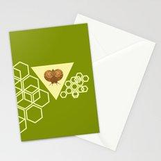 Geometric Snail Stationery Cards