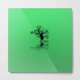 Naked Tree Three Metal Print