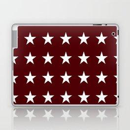 Stars on Maroon Laptop & iPad Skin