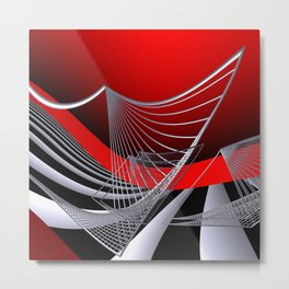 experiments on geometry -11- Metal Print