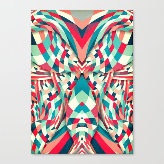 Piece by Peace Canvas Print