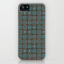 Pattern blue azul 6 iPhone Case