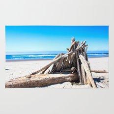 Drift wood Fort Rug