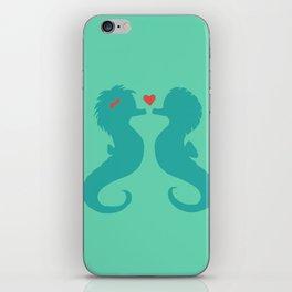Seahorses iPhone Skin