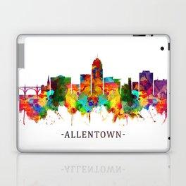 Allentown Pennsylvania Skyline Laptop & iPad Skin
