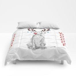 HOHOHOWOOOF WEIMARANER Comforters