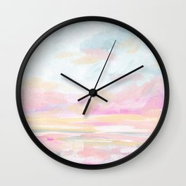 So Alive - Bright Ocean Seascape Wall Clock