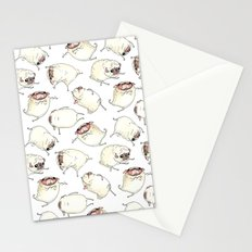 Pug Interpretive Dance Stationery Cards
