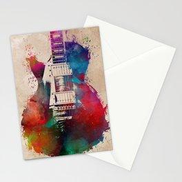 guitar art #guitar Stationery Cards