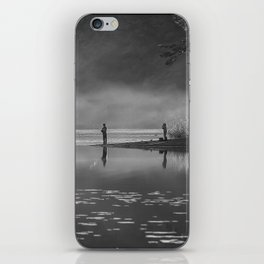 Any two boys - Fishing iPhone Skin