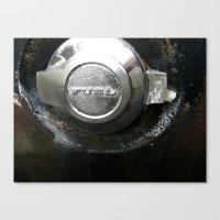 pocket fuel Canvas Prints featuring FUEL by Hayley Westling