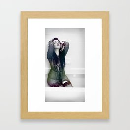 The Flow of Emotion Framed Art Print