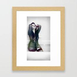 The Flow of Emotion Framed Art Print