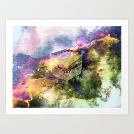 Anthropomorphism Art Print