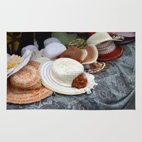hats Area & Throw Rugs featuring Hats by L'Ale shop