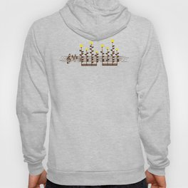 Music notes garden Hoody