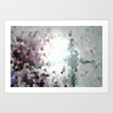 Hex Dust 1 Art Print