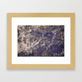 the last time Framed Art Print