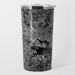 Baltimore Black Map Travel Mug