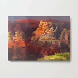Great Divide Metal Print