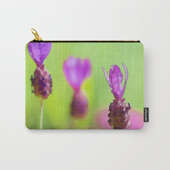 Lavender Bud Painting Carry-All Pouch