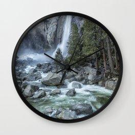 Lower Yosemite Falls Wall Clock