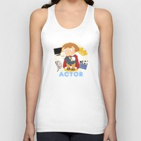 actor Tank Tops featuring Actor by Alapapaju