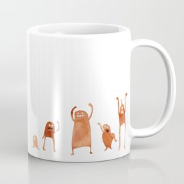 Monster Dance Party Coffee Mug