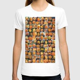 Pumpkin Faces T-shirt