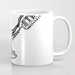 Viking Ape with Giant Toothbrush Coffee Mug