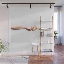 Fist Bumb Greeting Motivation Business High Five Wall Mural