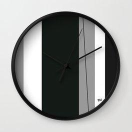 Kirovair Blocks Green #minimal #design #kirovair #decor #buyart Wall Clock