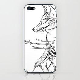 Fox Rot iPhone Skin