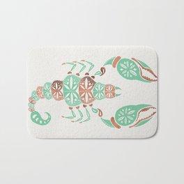 Scorpion – Mint & Rose Gold Bath Mat