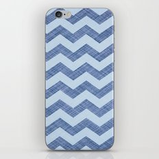 Pointed Waves iPhone & iPod Skin
