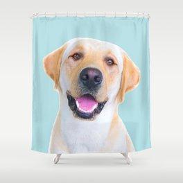 Dog - Labrador Shower Curtain