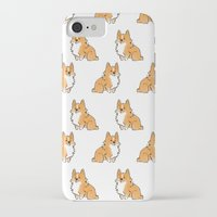 corgi iPhone & iPod Cases featuring C2 by alyruko