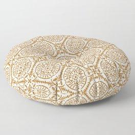 TAZA MEDIA NATURAL Floor Pillow