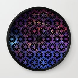 Cosmic Galactic Empire Wall Clock