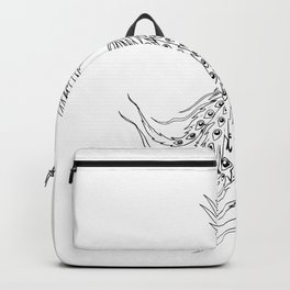 Simorgh or Simurgh Flying Drawing Backpack