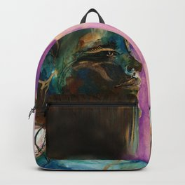 Earth Goddess No. 2 by Kathy Morton Stanion Backpack