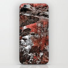 Red river iPhone Skin