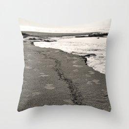 Sand Stripe Throw Pillow
