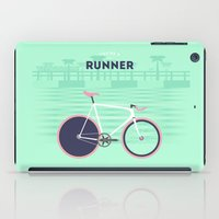 runner iPad Cases featuring Runner by Cyclemon