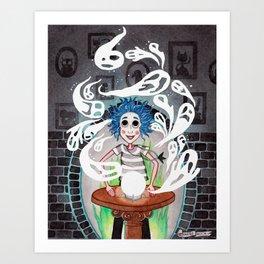 Noche Fantasmal Art Print