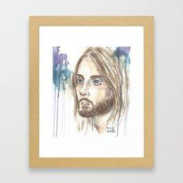 Leto Framed Art Print