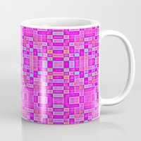 candy Mugs featuring Candy Colored Pixels by 2sweet4words Designs