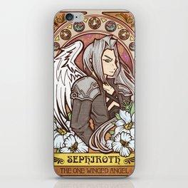 One Winged Angel iPhone Skin