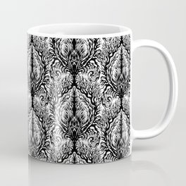 Fractal Damask Coffee Mug