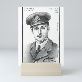 RAF Major UK Envoy Mini Art Print